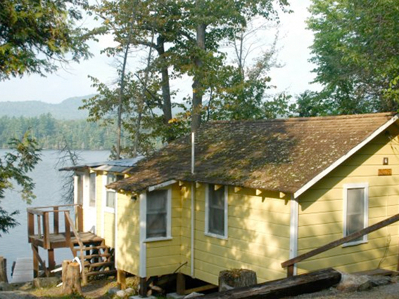 Long Pond Cabins Located In Ny S Adirondack Park Lake